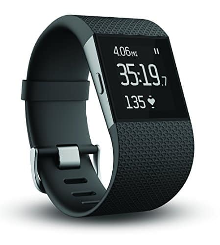 Fitbit Surge Fitness Superwatch Heart Rate GPS Tracking