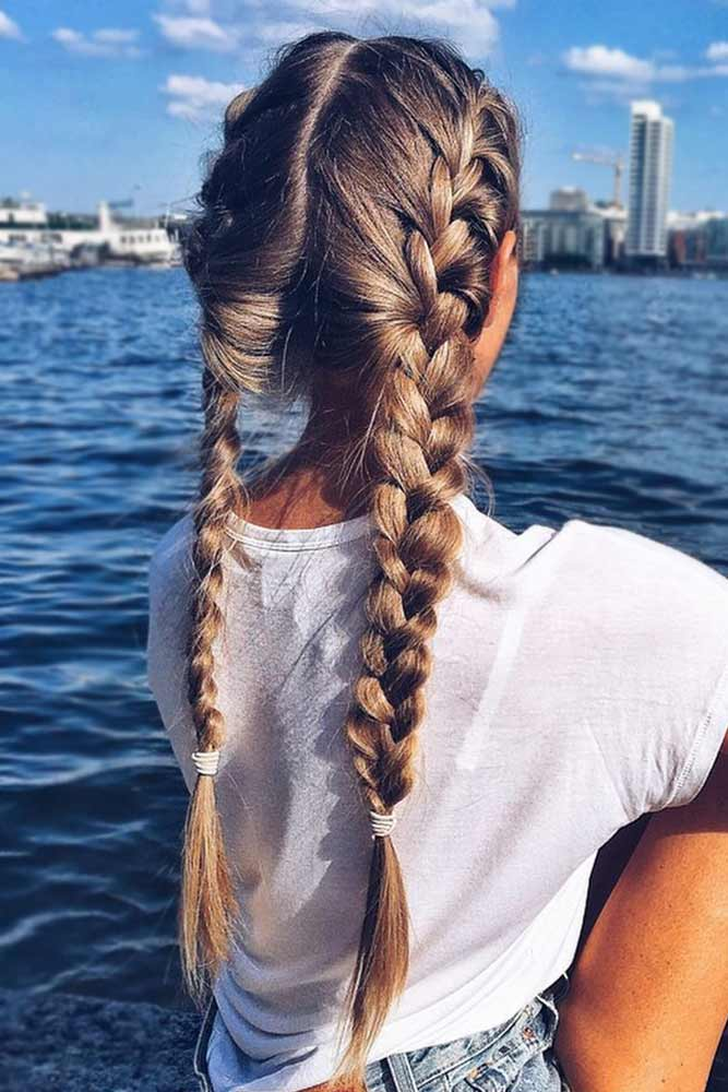 Hairstyles With Double Braids