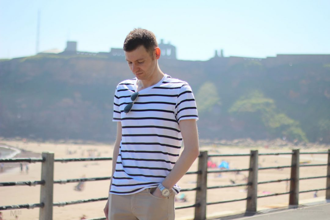 Smart Casual Outfit Ideas - T Shirt And Chinos