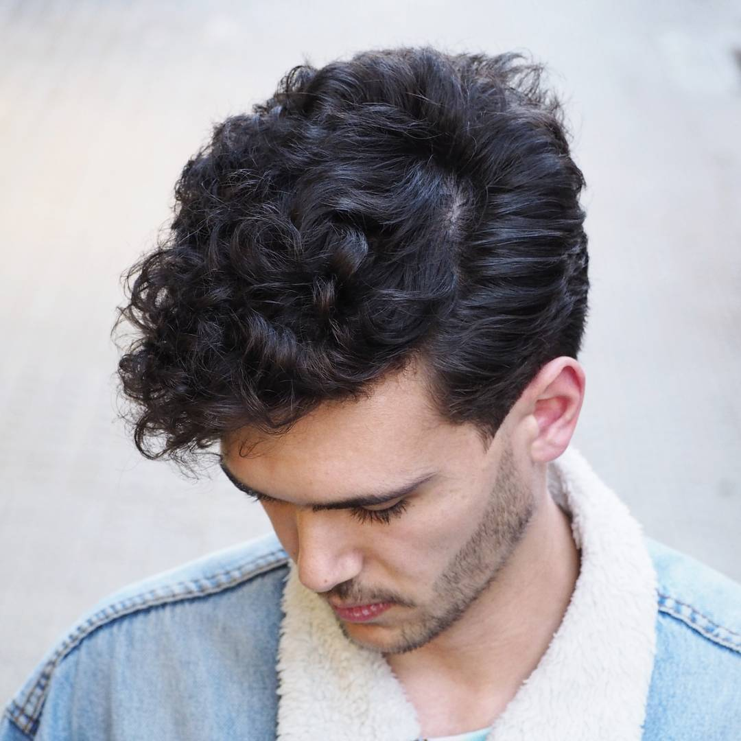 best haircuts for curly hair men