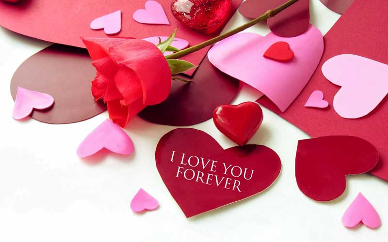 short love messages i love you forever