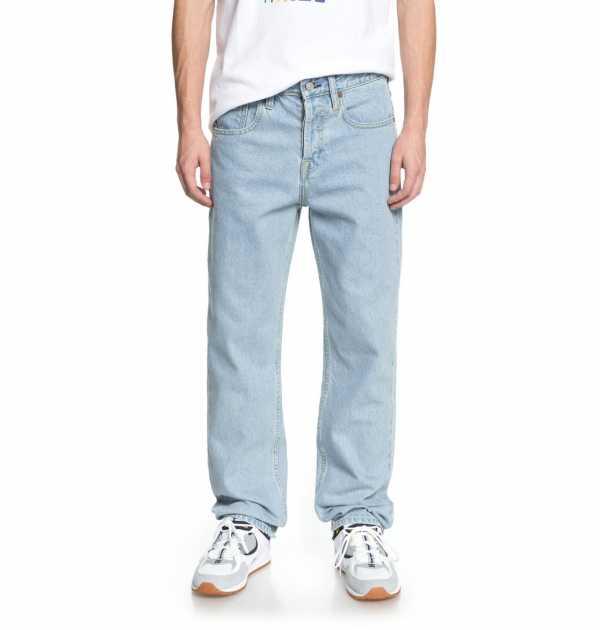 2a5c124a145 Выбор широких джинсов для мужчин определяется личными пожеланиями.  Модельеры и производители этого вида мужских брюк выпускают на рынок  достаточно ...