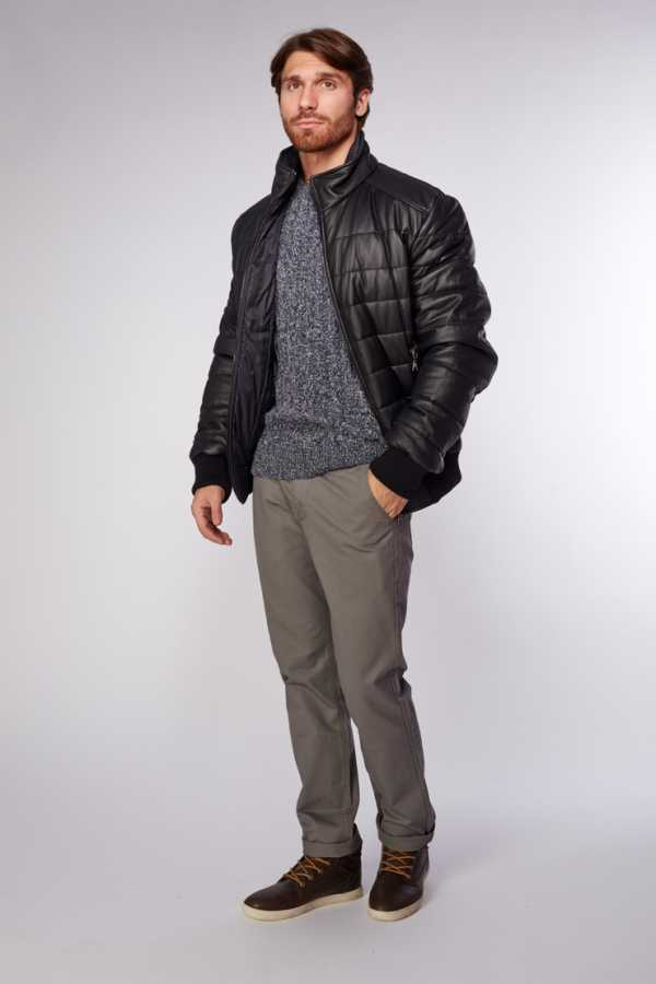 6b7eb4317be Фото мужских кожаных курток зимних – фирменные