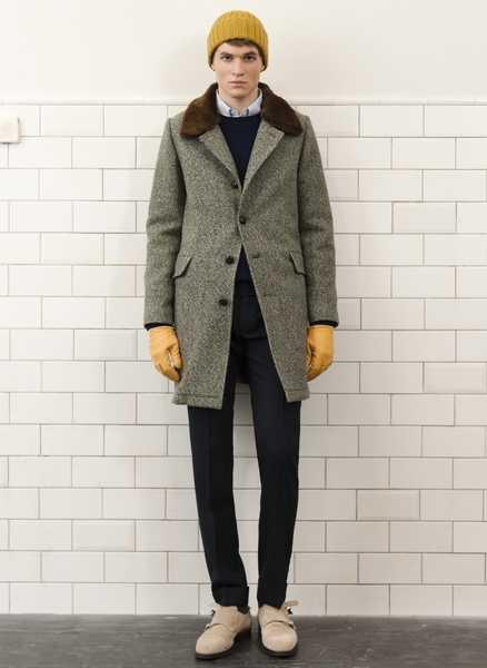 какую шапку носить с мужским пальто с чем носить мужское пальто