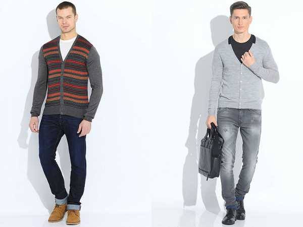 595b5826536 Кардиган и рубашка – С чем мужчинам носить кардиган