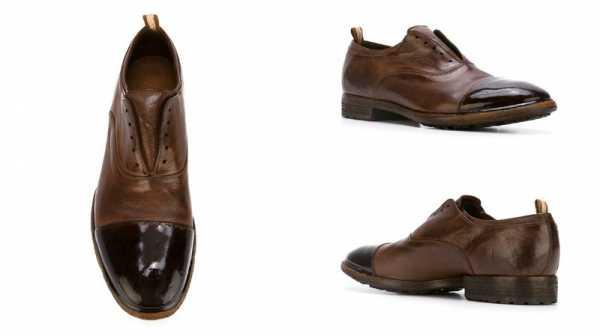 181108daf Первоначально туфли больше напоминали ботинки и имели прорези на боковых  частях, облегчающих одевание. Затем на места прорезей стали вставлять шнурки .