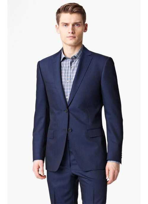 cf932ade980 Синий костюм и черная рубашка – Синий костюм  с чем носить