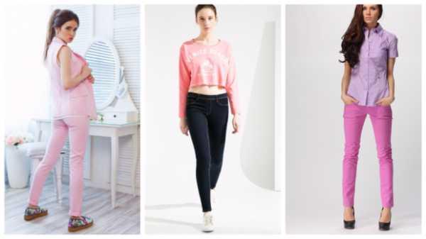 d426bb90ea4 Для легкого романтического образа узкие брюки можно комбинировать с  блузкой