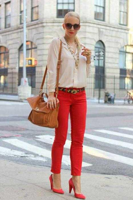 b5bce70ac8e Узкие классические брюки – с чем носить